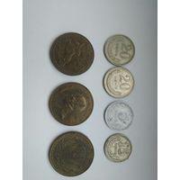 Подборка монет монголия