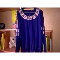 Шикарная кофточка-блузка Superstar р.48-50