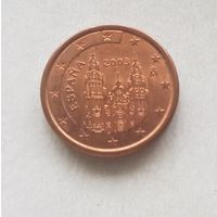 1 евроцент 2003 Испания