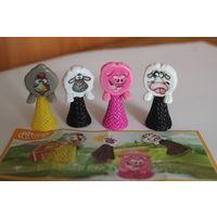 Продам серию игрушек из киндера попрыгунчики