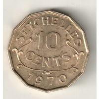 Сейшелы 10 цент 1970