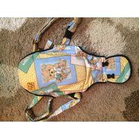Милейший рюкзак кенгуру от Chic в отличном состоянии, к сожалению никакой информации я больше про него не знаю. Попросила продать подруга. Приятная цена.