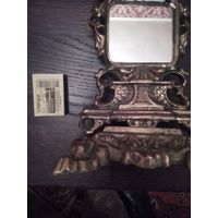 Зеркало бронзовое из подчасника.