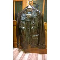 Новая натуральная кожаная куртка-трансформер