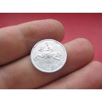 Литва 1 цент 1991 года - лот 2