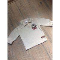 Кофта Белый свитер Джемпер на 2-3 года