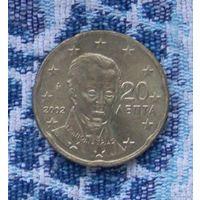 Греция 20 евроцентов 2002 года. Подписывайтесь! Много новых лотов в продаже!!!