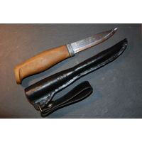 """Нож Morakniv """"Мора-Компаньон"""" (Швеция) с самодельной рукояткой и ножнами"""