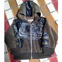 Куртка д/мальчика новая фирменная деми (4-5 лет)