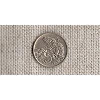 Новая Зеландия 5 центов 1970 /фауна//(GB)/
