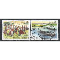 Праздник Финляндия 1981 год серия из 2-х марок