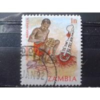Замбия 1981 Стандарт 1п