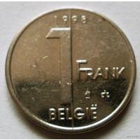 1 франк Бельгия 1998