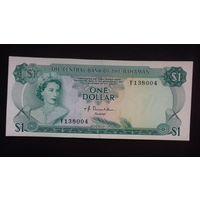 1 доллар 1974 года. Багамские острова. aUNC. Распродажа.