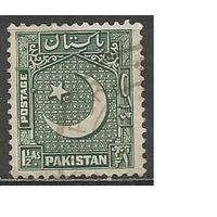 Пакистан. Национальный герб. 1949г. Mi#48.