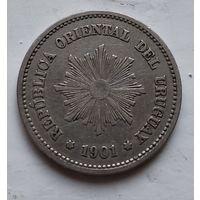 Уругвай 5 сентесимо, 1901 4-9-29