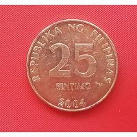 61-24 Филиппины, 25 сентимо 2004 г.