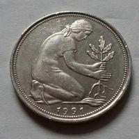 50 пфеннигов, Германия 1991 J