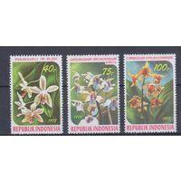 [1502] Индонезия 1978. Флора.Цветы.Орхидеи.