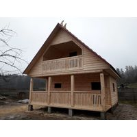 Построим Дом из профилированного бруса на ваш вкус и бюджет 10 дней