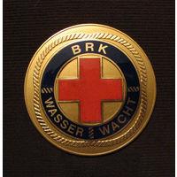 Красный крест  плакетка  водной службы спасения