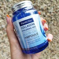 Многофункциональная ампульная сыворотка с коллагеном и гиалуроновой кислотой Farm Stay 250 ml