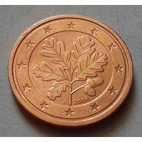 2 евроцента, Германия 2006 J, UNC