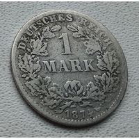 "Германия 1 марка, 1874 ""C"" - Франкфурт-на-Майне (Выпуск -840.398)  8-10-24"