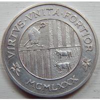 25. Андорра, медаль*