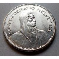 Швейцария 5 франков 1965 г.