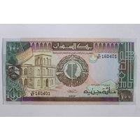 Судан, 100 фунтов 1989 год, аUNC