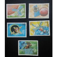Куба 1988. Космос. ( 5 марок).
