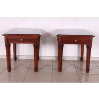 Прикроватные столики из красного дерева.Art-749.