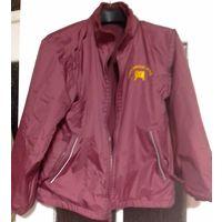 Осенняя двухсторонняя куртка, как новая, на р-р 40-44