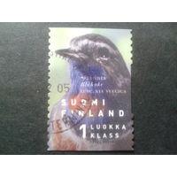 Финляндия 1999 птица