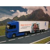 Модель грузового автомобиля Mercedes-Benz Actros (5). Масштаб HO-1:87.