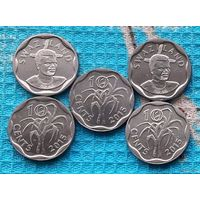 Свазиленд 10 центов, UNC