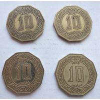Алжир 10 динаров, 1979 5-10-1*4