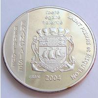 Сен-Пьер и Микелон 1.5 евро 2004 г