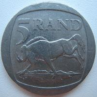 ЮАР 5 рандов 1995 г. (g)