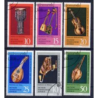 Германия ГДР 1971 Музыкальные инструменты. 1 марка