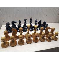 Советские деревянные шахматы. Резные фигуры.
