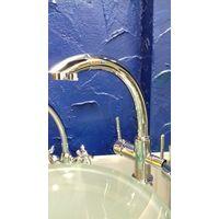 Кухонный кран смеситель на 3 потока