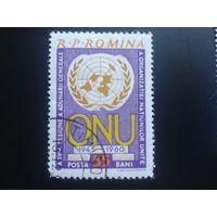 Румыния 1960 эмблема ООН