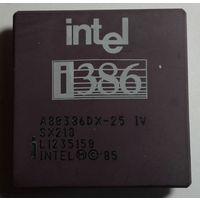 Ретро-процессор INTEL i386,1985г.