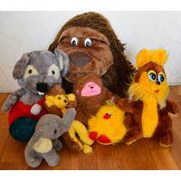 Мягкие игрушки (8 игрушек в одном лоте)