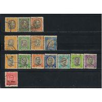 Дания Исландия 1902-23 Фредерик VIII и Христиан Х Служебные