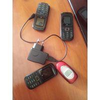 Мобильный телефон на запчасти  маленькие Лайф работают
