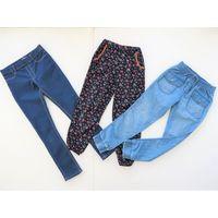 Джинсы, джеггинсы, штаны для девочки 130-146