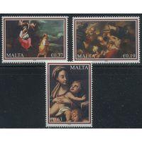 Мальта 2010 Искусство, Живопись, Религия, Рождество **